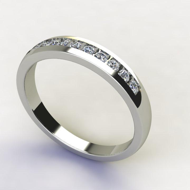 11  Smart Fancy Cut Diamond Wedding Ring For Women