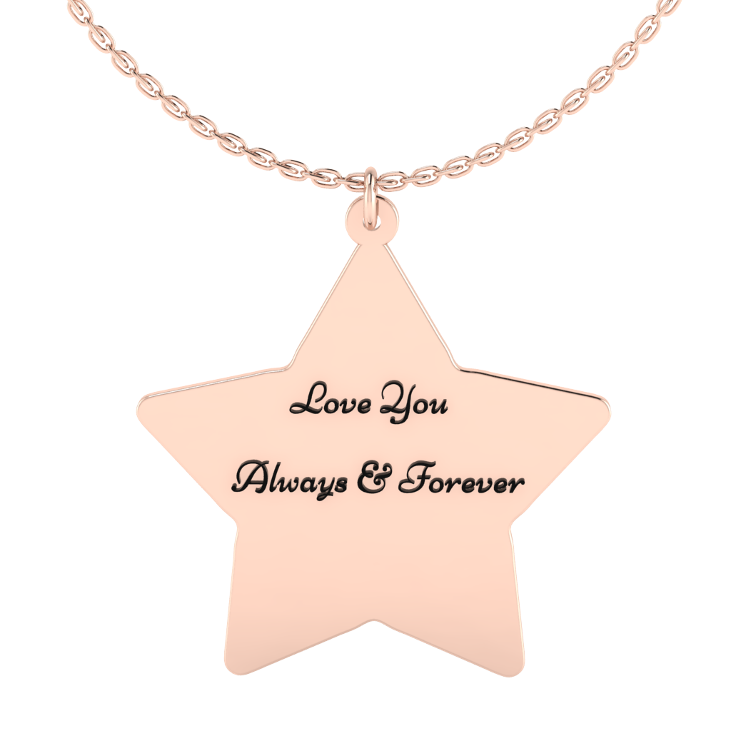 Star Name Necklace