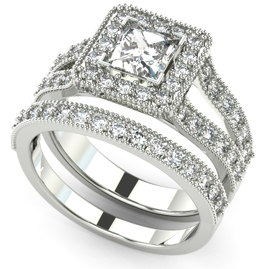 Gorgeous Engagement Ring For Couple