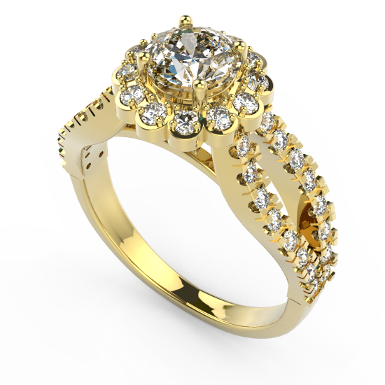 Stunning Brilliant Cut Diamond Ring