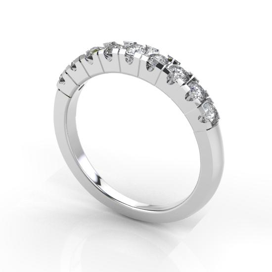 9 Fancy Cut Diamond Wedding Ring For Women