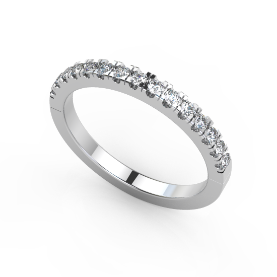 Fancy Cut 15 Diamond Wedding Ring For Women