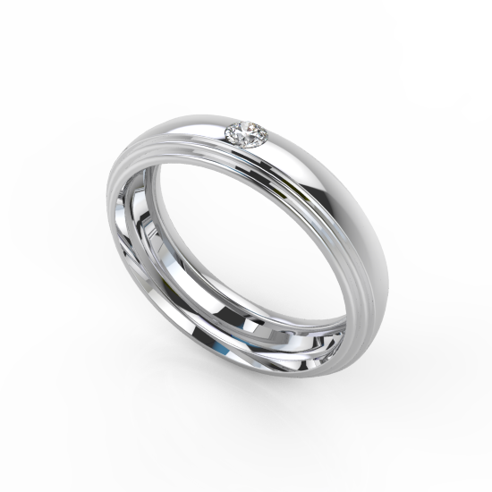 Stylish Rikas Wedding Ring For Men