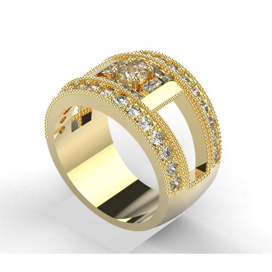 Elegant Diamond Wedding Ring For Women