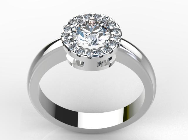 Ladies Engagement Ring