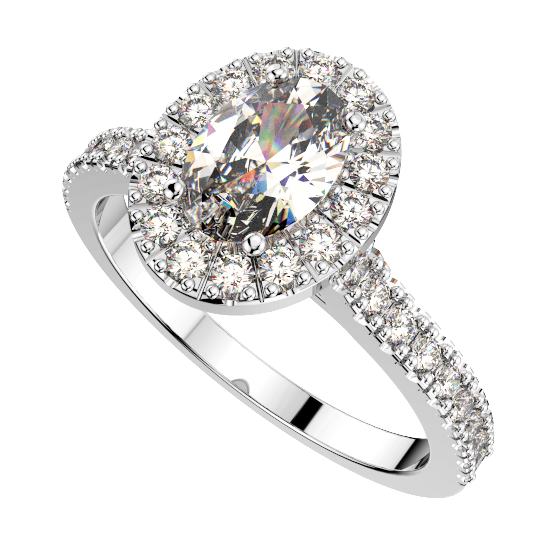 Single color stone Ring