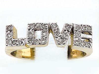10K LOVE RING