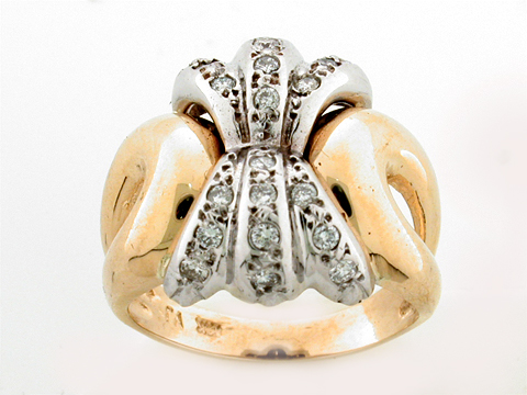 14K FANCY RING
