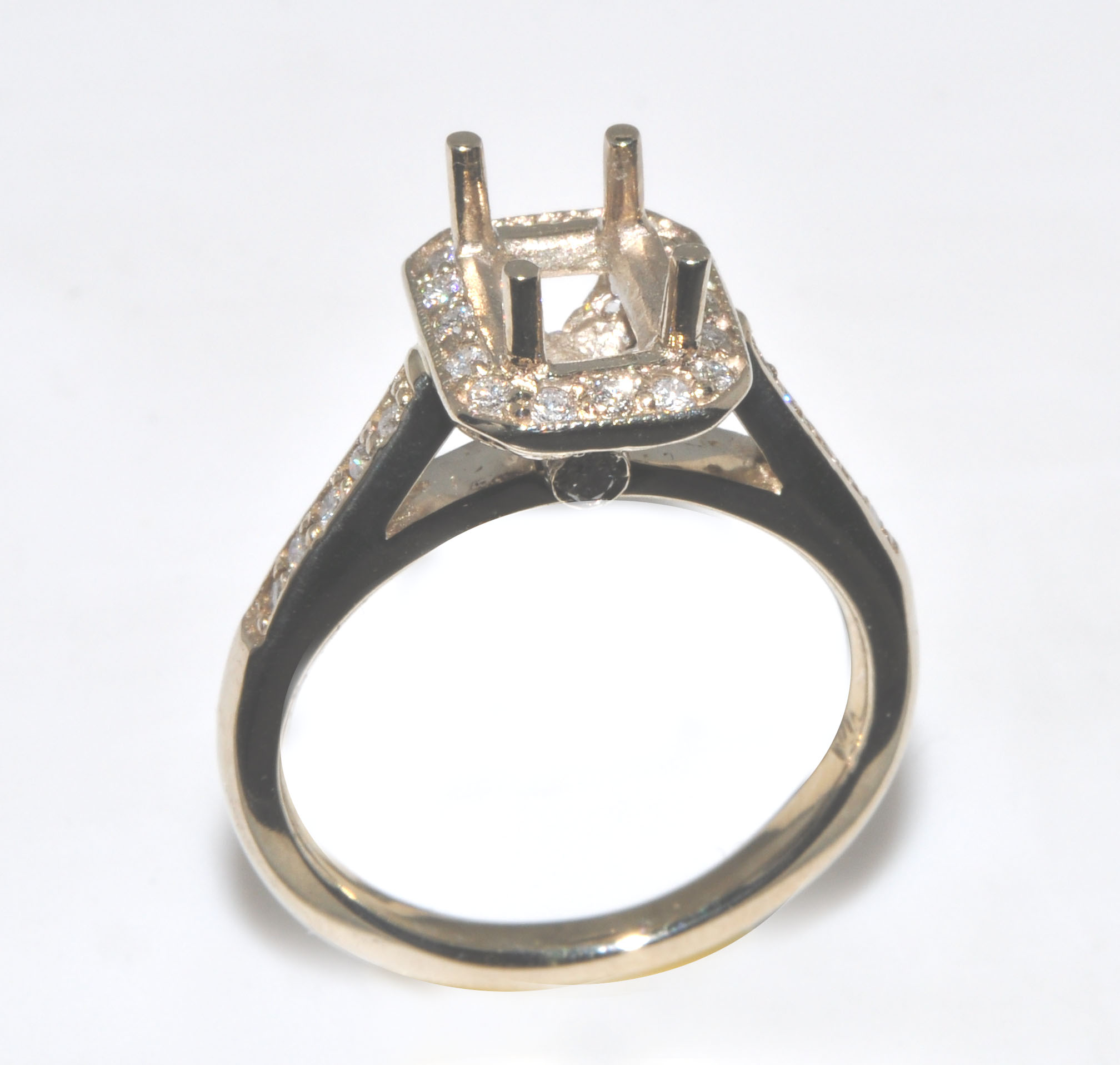 14K RE COL STONE RING