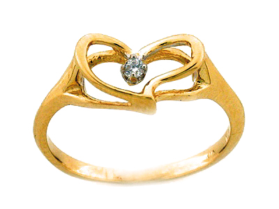 10K PROMOTION HEART RING