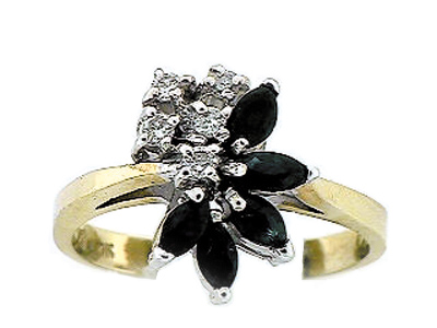 10K 5 MARQUISE RING