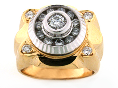18K FANCY RING