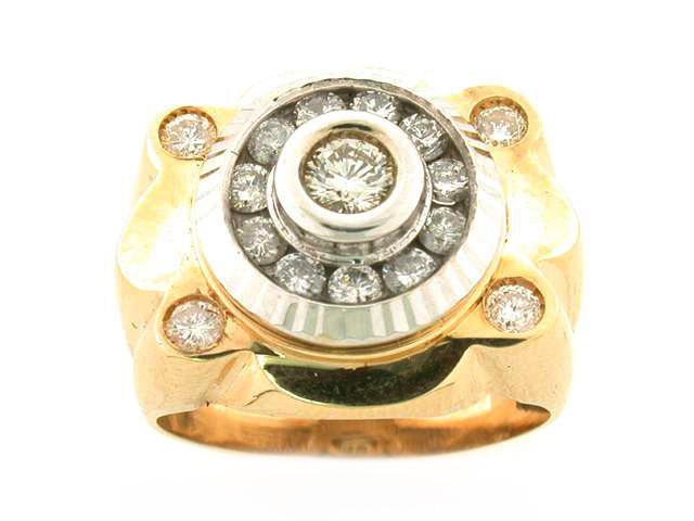 14K ROLEX RING