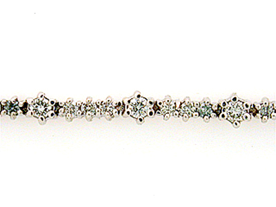 14K ALL DIA TENNIS BRACELET