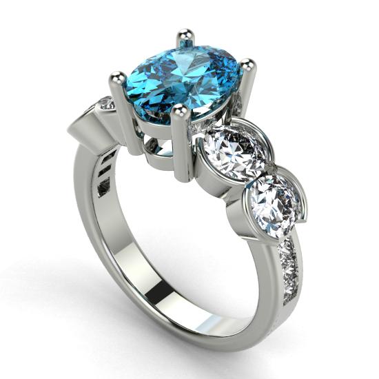 Colour Stone Ring